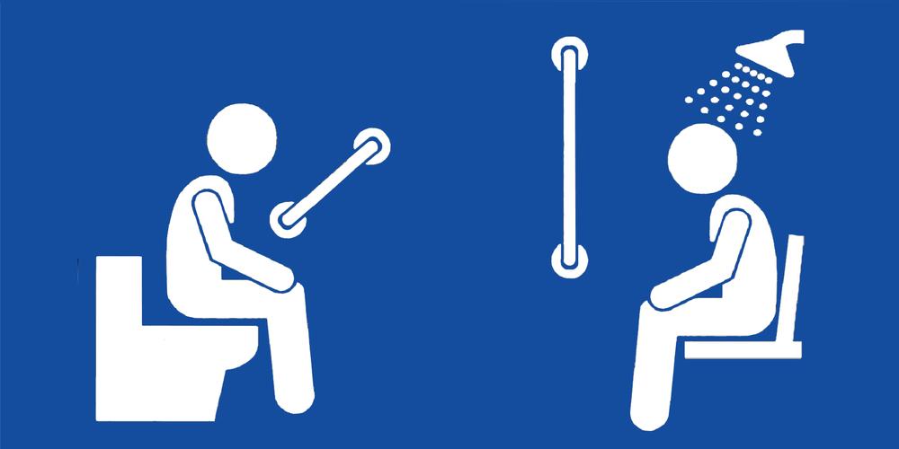 Badkamer en toilet hulpmiddelen  Supportshop